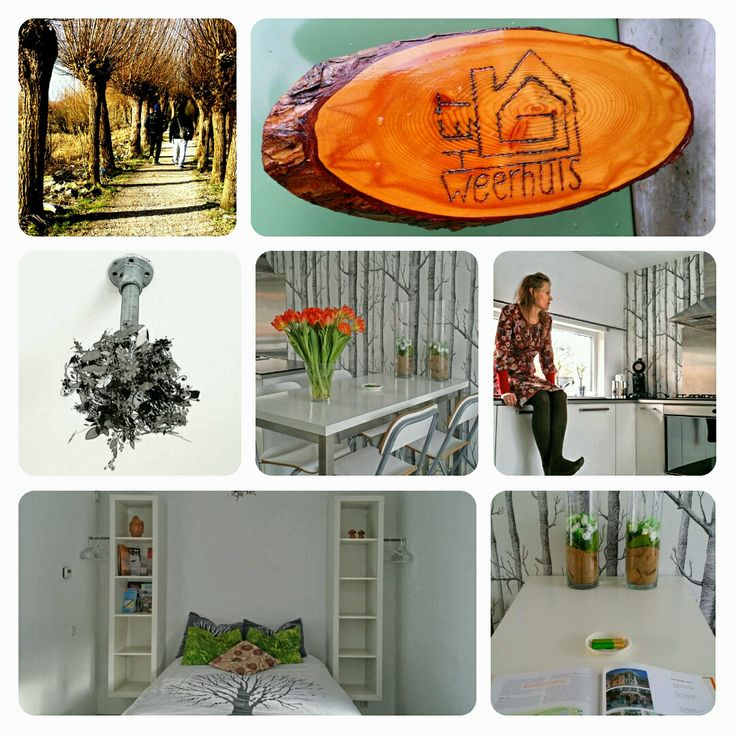 Prachtige Bed and Breakfast / Studio. http://itisgoodinmyhood.blogspot.nl/2014/02/whats-in-my-hood-het-weerhuis.html