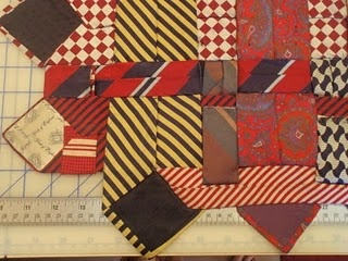 Woven Tie Quilt: Memories Ties, Deb Rowden, Shops Quilts, Quilts Memories, Quilts Ties, Thrift Shops, Memories Quilts, Necktie Quilts Patterns, Rowden Thrift