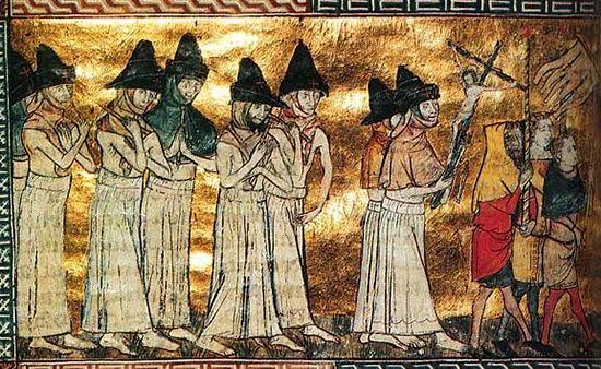 Procesiune ciudată din Evul Mediu | Evul Mediu pare pentru mulţi specialişti o epocă destul de stranie şi bizară, oricum întunecată, nu neapărat numai din cauza năvălirilor barbare cât[...] | http://dezvaluiribiz.ro/procesiune-ciudata-din-evul-mediu/