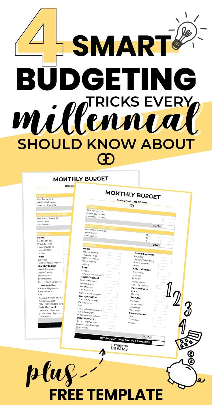 how to budget your money in 4 simple steps gathering money