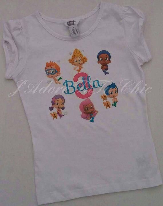 Bubble guppies birthday shirt bubble guppies by JAdoreTuTuChic