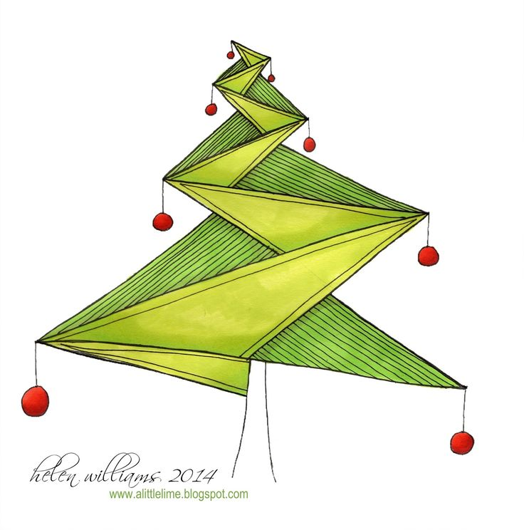 a little lime: Journal 13 Wrap Up - part 2 - ING Christmas tree