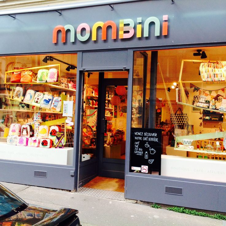 Boutique Mombini - kids concept shop, cafe and playspace in France