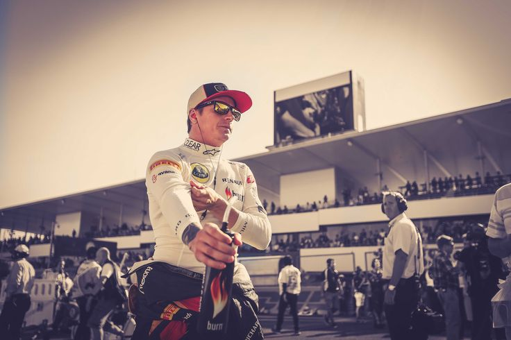 Kimi before the race