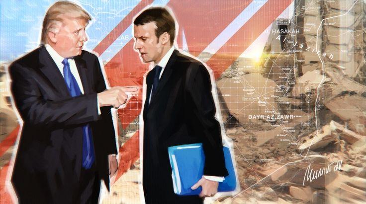 Сирия: Дорожные карты Трампа и Макрона, или как США спасают боевиков и «борются» за мир https://riafan.ru/868778-siriya-dorozhnye-karty-trampa-i-makrona-ili-kak-ssha-spasayut-boevikov-i-boryutsya-za-mir