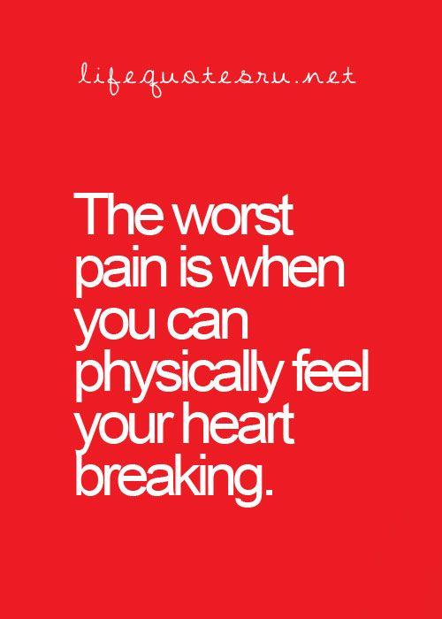 Worst Pain! :(