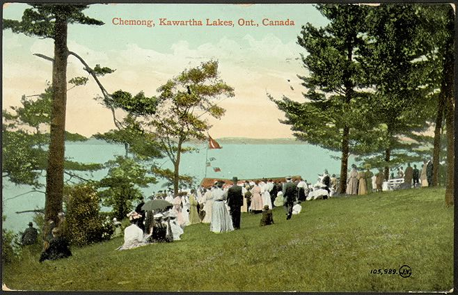 Chemong Lake in 1910, from the Digital Archive at Toronto Public Library
