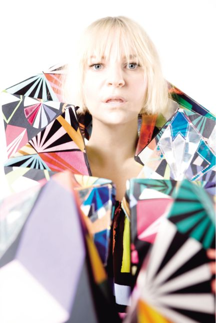 """Australian-bred singer-songwriter Sia Furler burst onto the American scene with her feature on David Guetta's """"Titanium"""" in mid-2012. Description from theurbanalternative.wordpress.com. I searched for this on bing.com/images"""