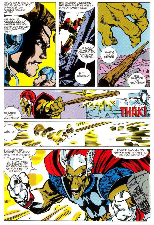 The alien beta ray bill defeats thor in combat and takes for Ecksofa 2 70 x 2 70