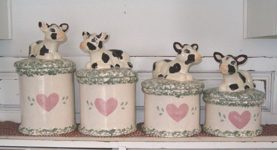 17 best images about cow kitchen decor on pinterest cow print dairy and country farm - Kitchen cow theme ...