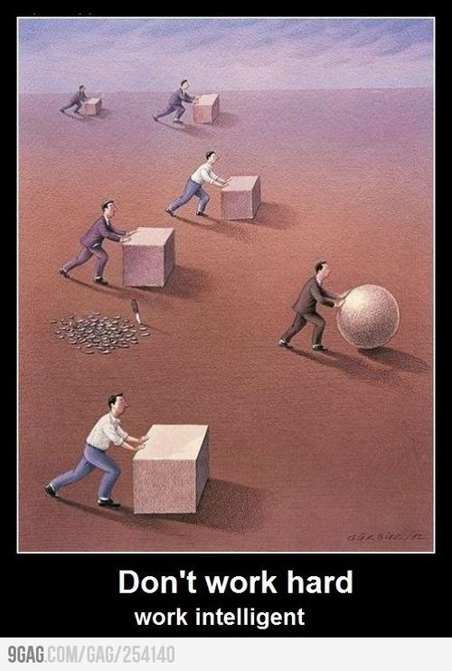 travailler intelligemment