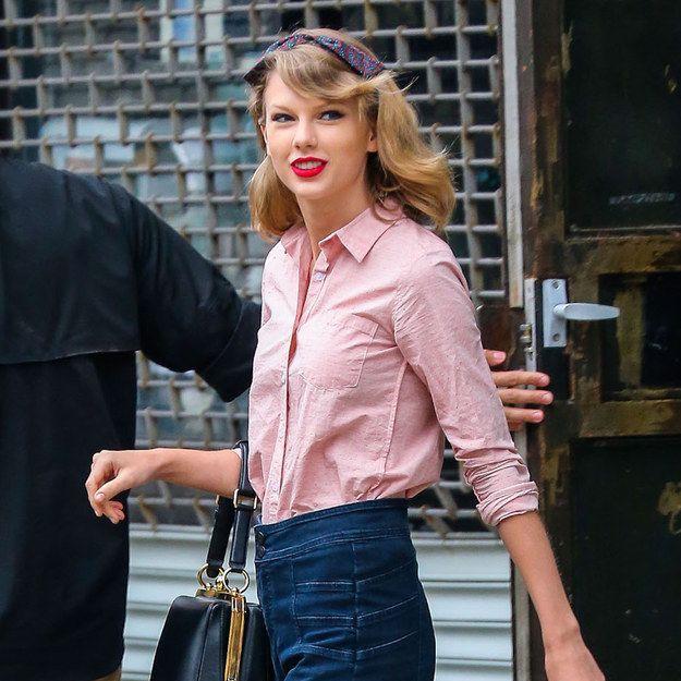 Taylor Swift es la que mejor viste, incluso saliendo del gimnasio - El Señor de las Gafas Amarillas
