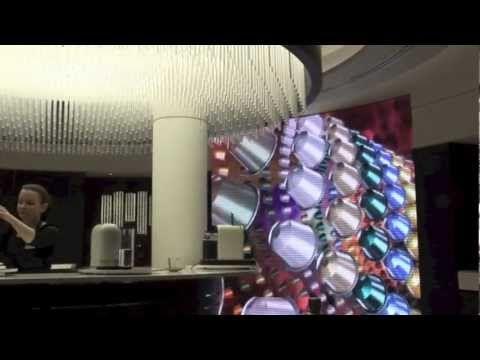 ▶ ZetaDisplay goes to Nespresso, London - YouTube