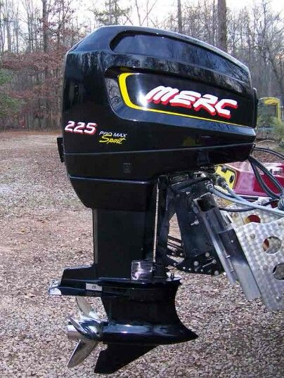 Biggest mercury outboard motor for Bass boats with evinrude motors