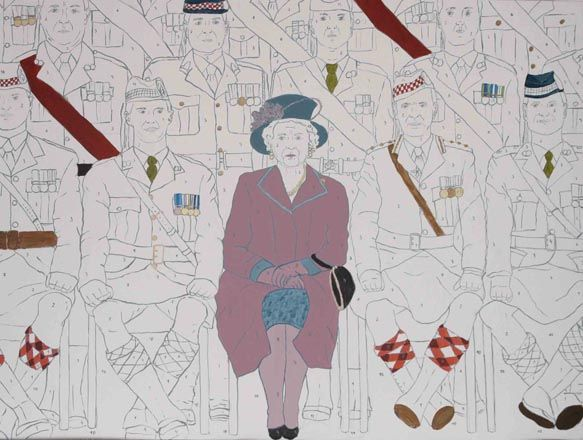 MARTA KOCHANEK, Queen, http://lavacow.com/current-auctions/contemporary-east-lavacow-auction/queen.html