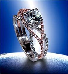 paloma - Three Band Wedding Ring