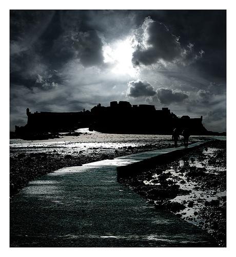 Elizabeth Castle, Jersey, UK