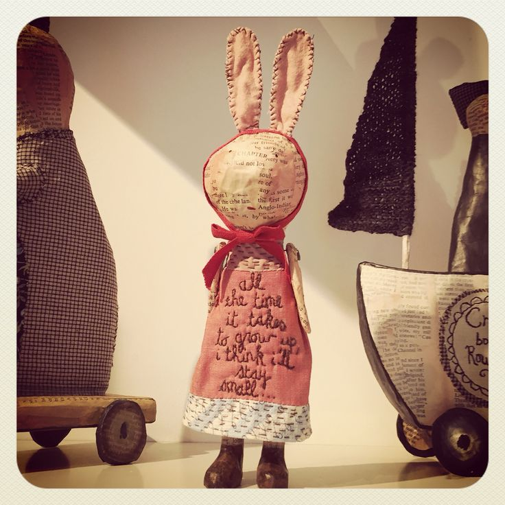 """'all the time it takes to grow up, i'll think i'll stay small...' : Julie Arkell's """"Away"""" exhibition at Ruthin Craft Centre"""