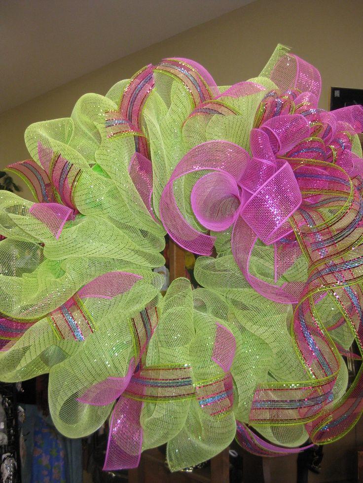Mesh Wreaths Mesh Wreath Craft Ideas Deco Mesh