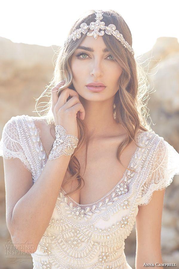 Anna Campbell #Wedding Dresses — Spirit #Bridal Collection | Wedding Inspirasi Photo: 35mm Photography  #weddings #weddinggown #weddingdress