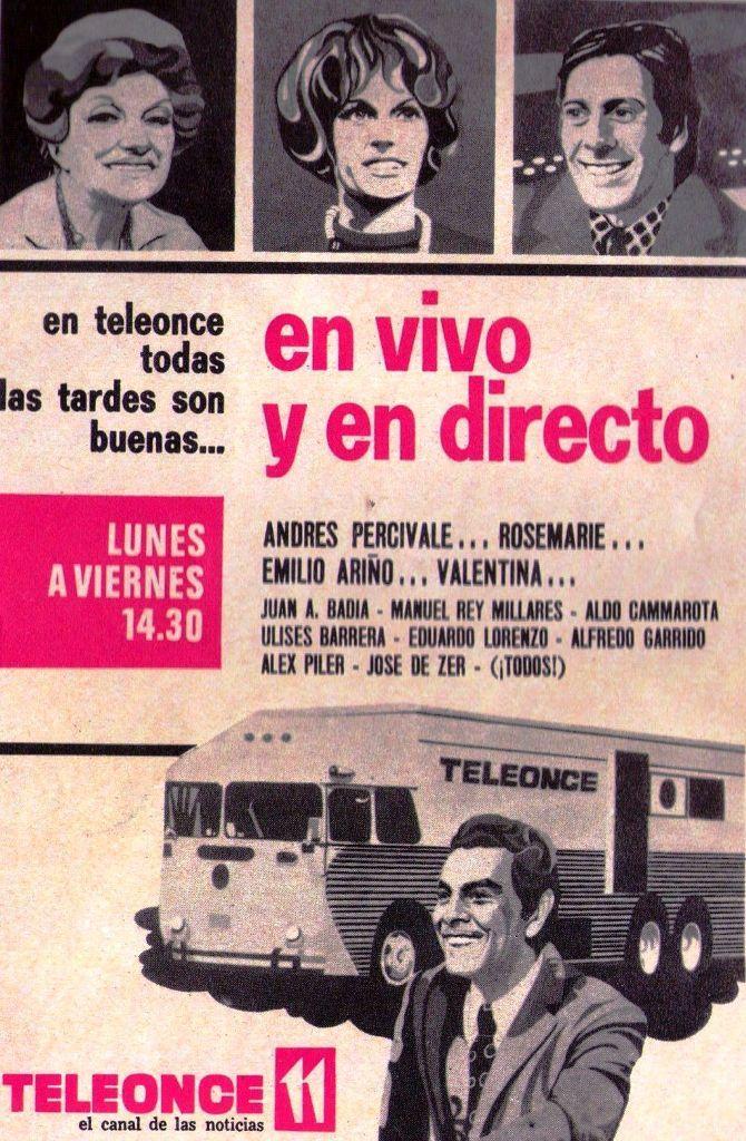 Canal 11 En Vivo y en Directo 1972