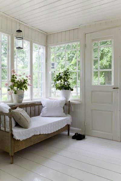 simple, summer porch