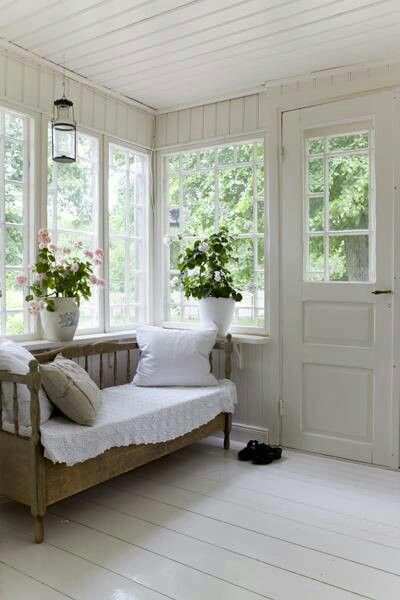 simple, summer porch                                                       …