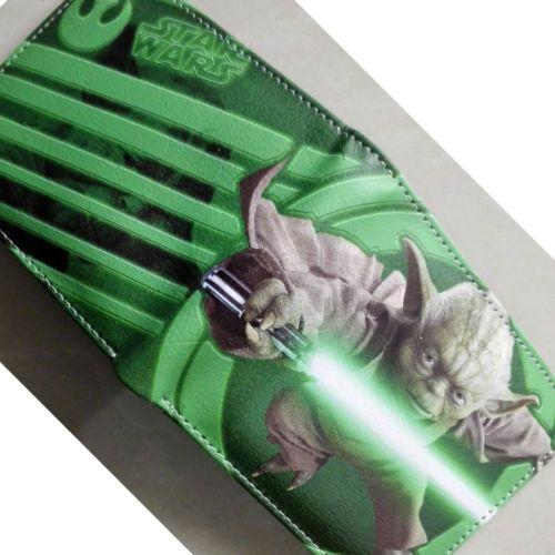 Фильм звездные войны йода логотип кошельки кошелек зеленый 12 см кожа новый горячий W181
