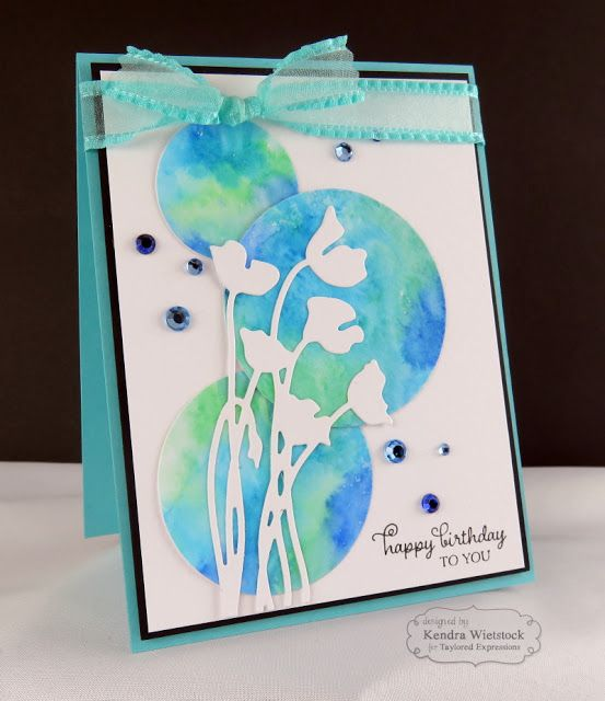 Kendra's Card Company: Watercolor Background...