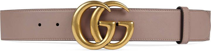 #Leather #belt with Double G buckle, at #Gucci,made in #Italy. http://shopstyle.it/l/b4h