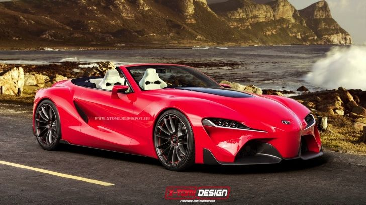 Toyota FT-1 Convertible rendering