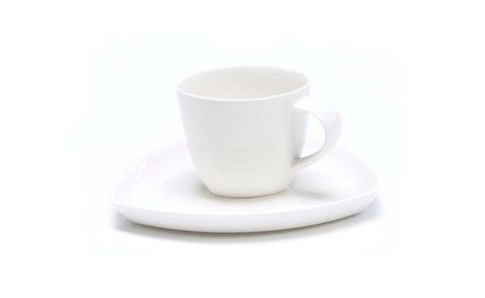 Amfora Tri Coffee Cup with the Plate