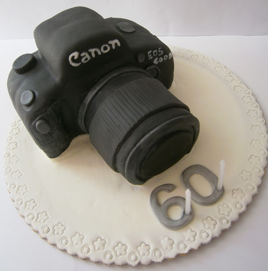 Canon Camera Cake Design : 17 Best images about Kamera on Pinterest Canon, Birthday ...