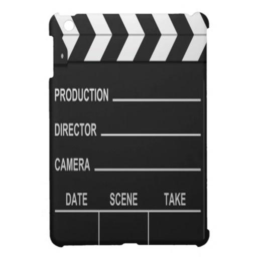 Lights Camera Action - iPad Mini Case