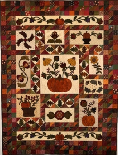 192 best pumpkin quilts images on Pinterest | Board, Crafts and Fall : wool quilt patterns - Adamdwight.com