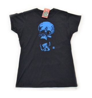 SKULL FOR WOMEN  Screen Printing  Original by HandsomePickles