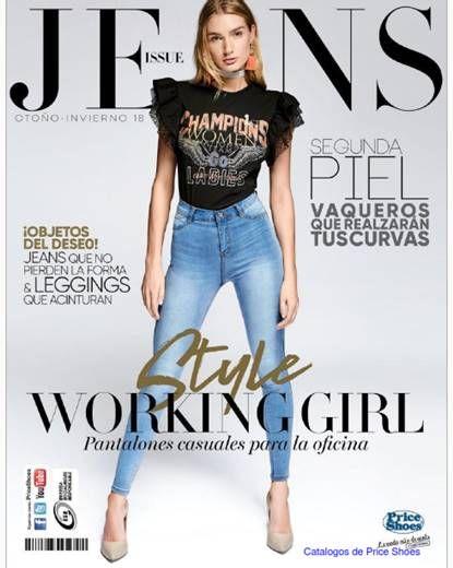 89f50cd9 Catalogo Price Shoes Jeans Otoño Invierno 2018. Jeans de mujer, Jeans de  moda,