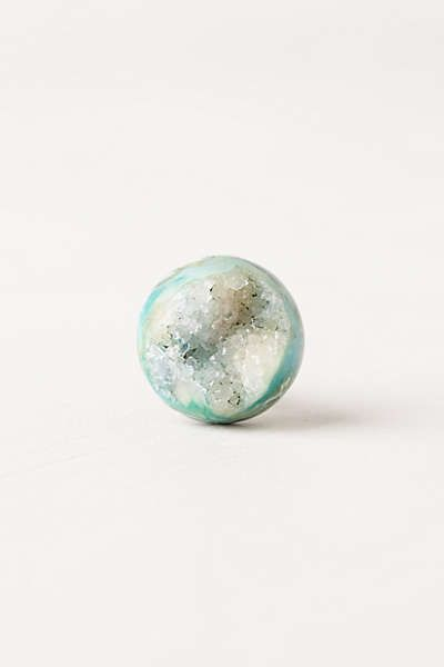 Anthropologie - Druzy Quartz Knob (dresser in bedroom?)