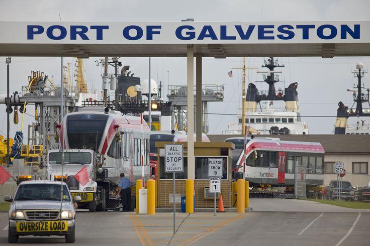 Parking The Car At Galveston Carnival Port