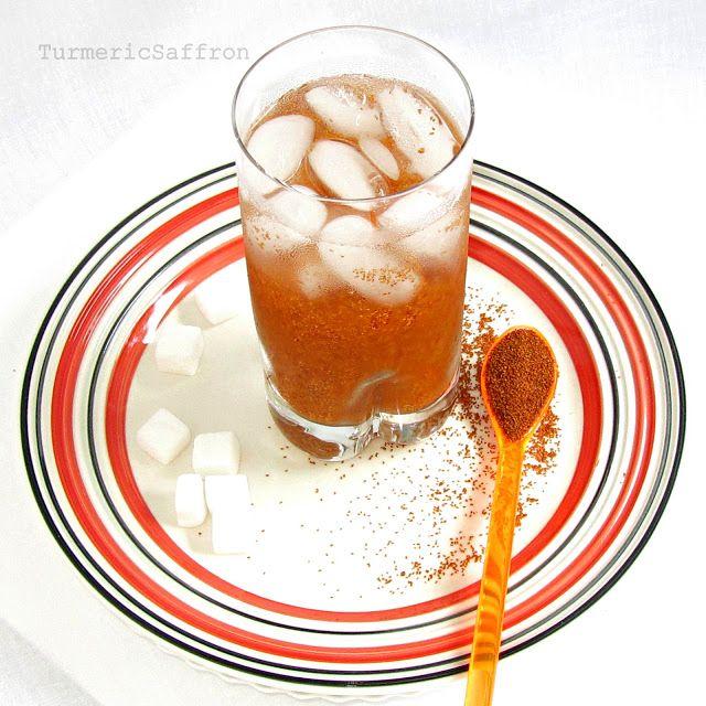 Turmeric and Saffron: Sharbat-e Khakshir - Persian Refreshing Summer Drink