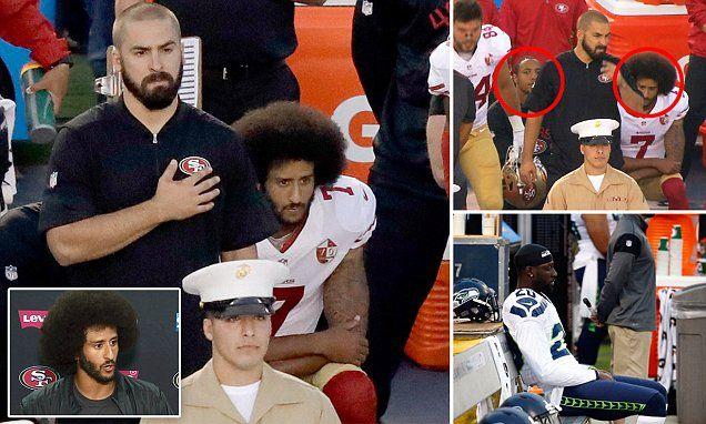 San Francisco 49ers QB Colin Kaepernick refuses to stand AGAIN