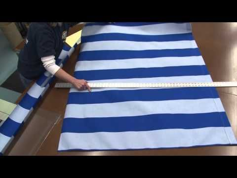 How to Make a Loose Frame Awning with a Scalloped Edge