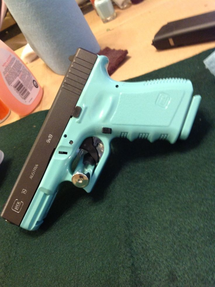 I will have this Tiffany and Co. inspired gun one day!