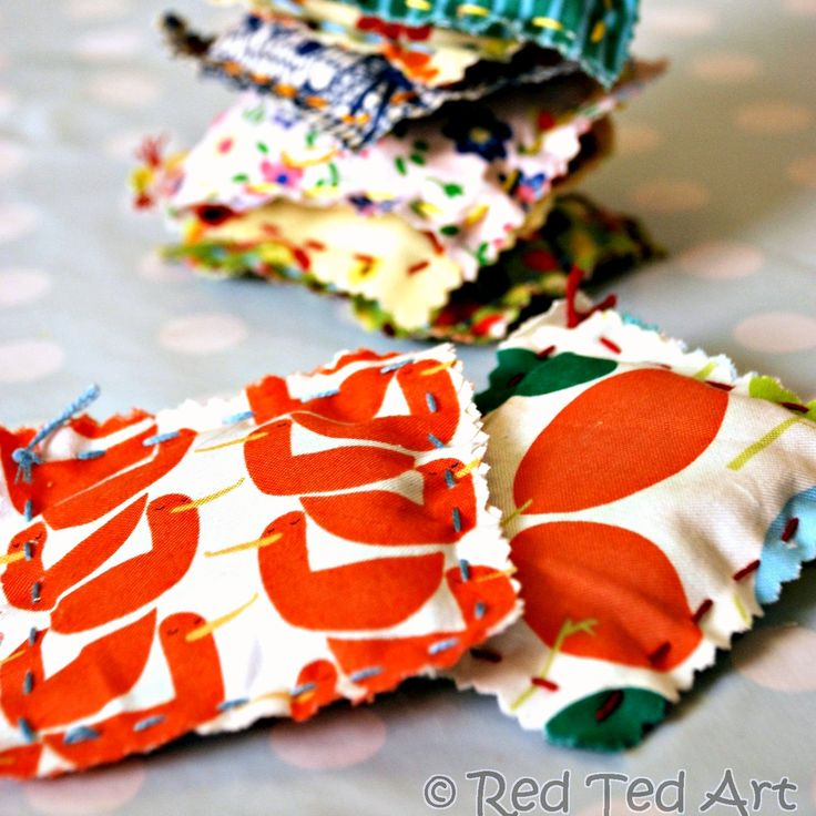 Simple Lavender Bags kids can learn to sew - teach them the easiest stitch and make these great little gifts.