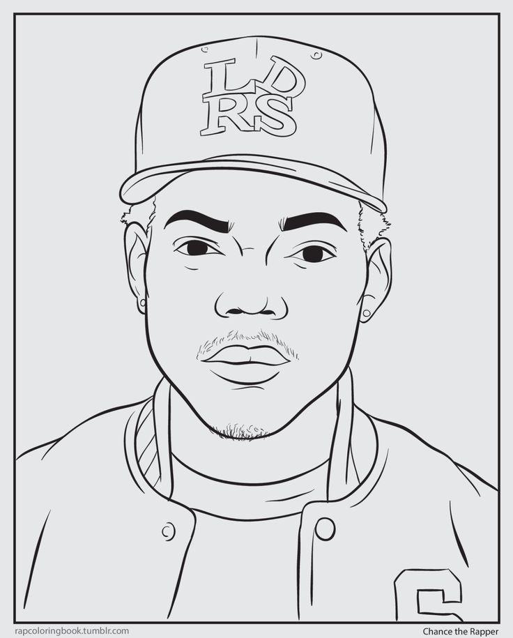 Bun B's Jumbo Coloring And Rap Activity Tumblr | Clickhereto download the Chance the Rapper...