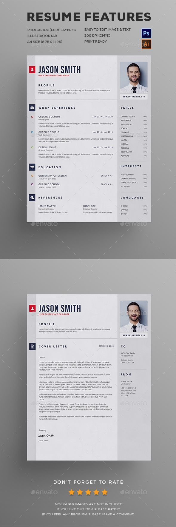Resume 1534 best Resume Design images on