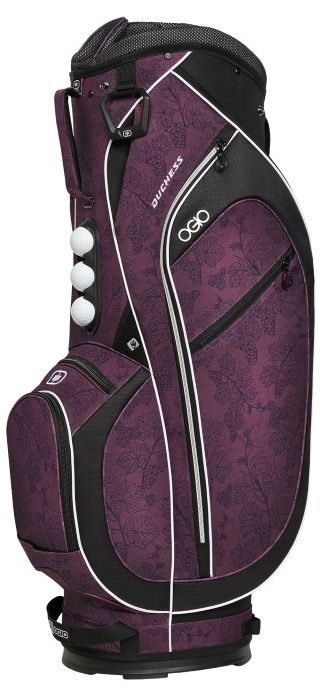 Merlot Ogio Women's Duchess Golf Cart Bag now at one of the top shops for ladies golf bags #lorisgolfshoppe