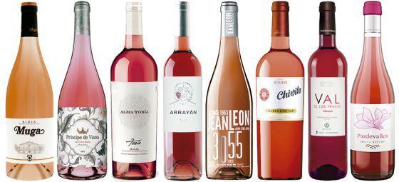 Con el calor llegan los vinos rosados, desde el criado en barrica hasta el joven pulcro, pasando por el trabajo con las lías finas