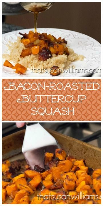 Bacon-Roasted Buttercup Squash