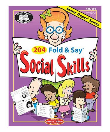Another great find on #zulily! 204 Fold & Say Social Skills Workbook Set #zulilyfinds